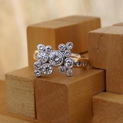 Diamond Champagne Ring