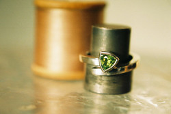 Cross-over Ring with Trilliant