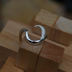 Rounded Woodknot Ring