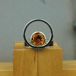 Large Circle & Dot Ring