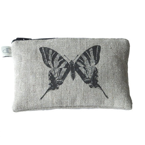 Butterfly - Small Make Up Bag