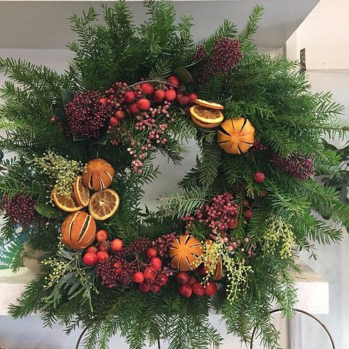 Wreath workshop with Sandrine Jarnet - 6th December 2020 (Morning)