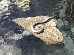 Sophie swirl pendant