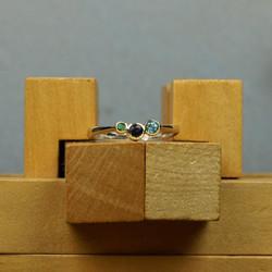 18ct 3 Stone Ring