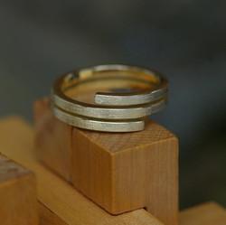 Double Mini Cross-over Ring