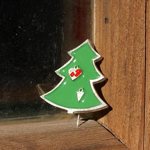 Christmas Tree Brooch by Tine Bladbjerg