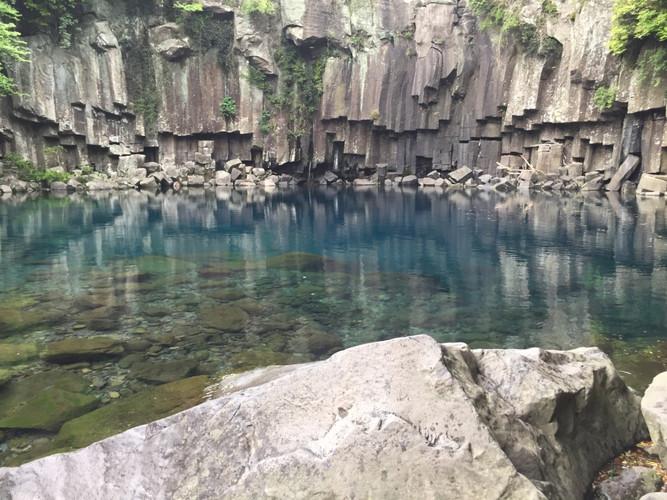 Jeju_Choenjeyon waterfall