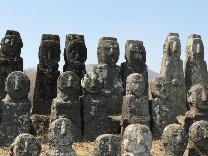 Jeju_Stone statue