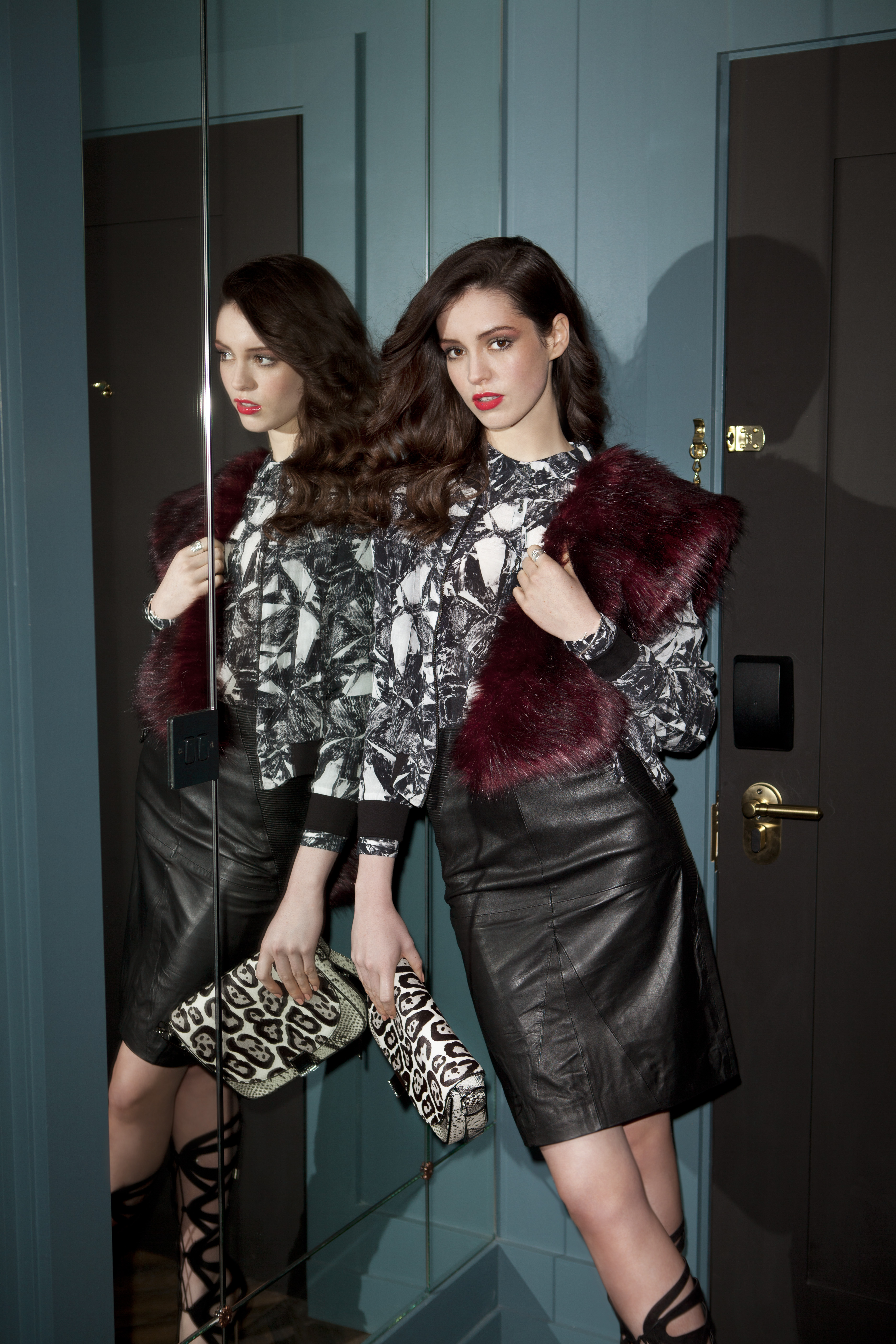 Alternative Christmas Party dressing 4, publication Weekender Magazine, Photographer Naomi Gaffney