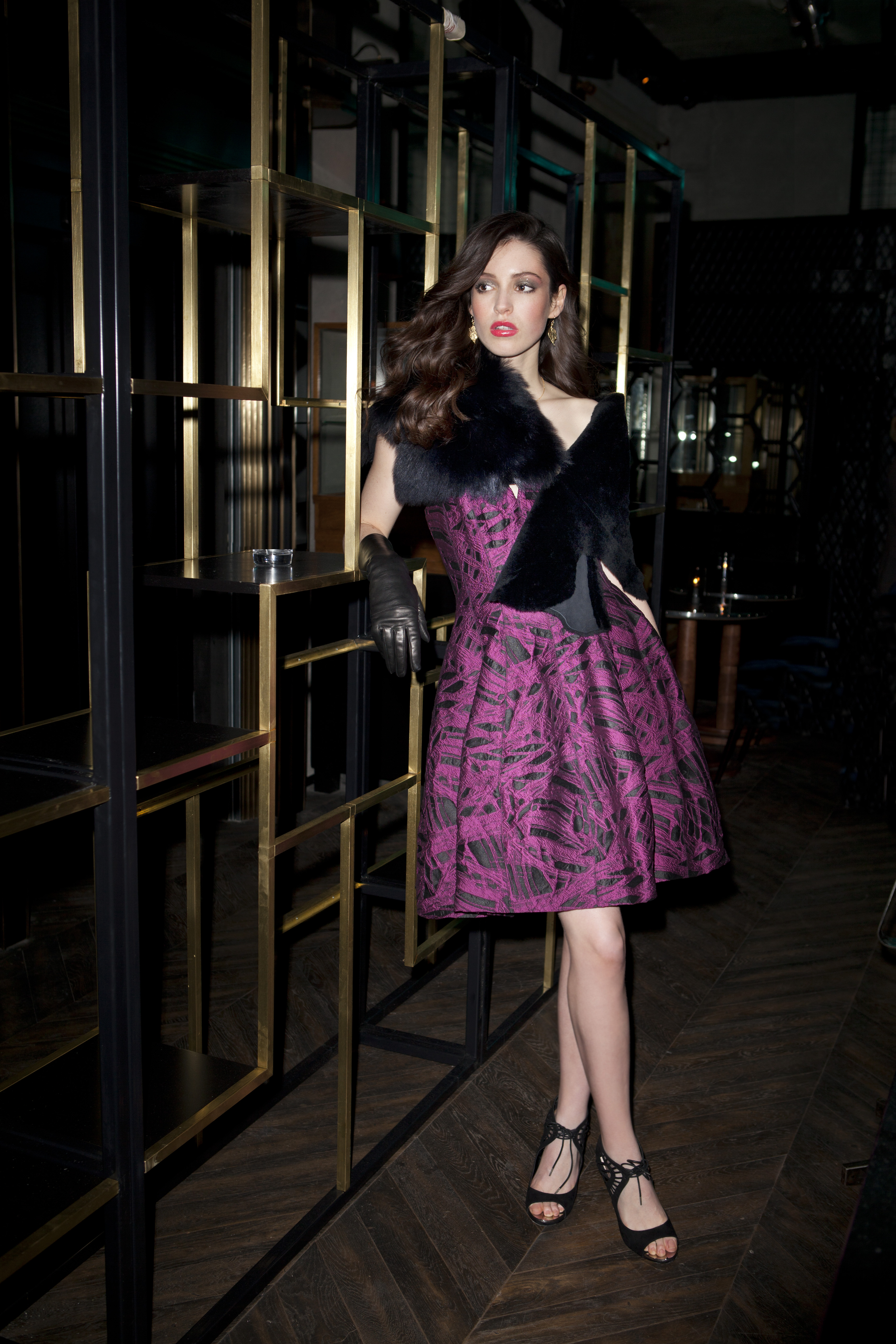 Alternative Christmas Party Dressing 6, publication Weekender Magazine, photographer Naomi Gaffney