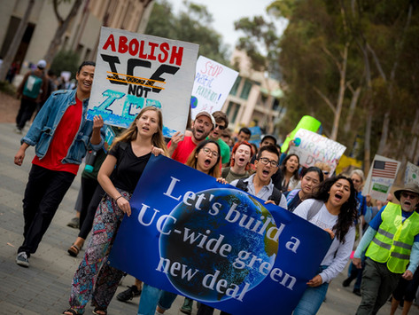 The Latest on the Green New Deal and Getting off the Gas