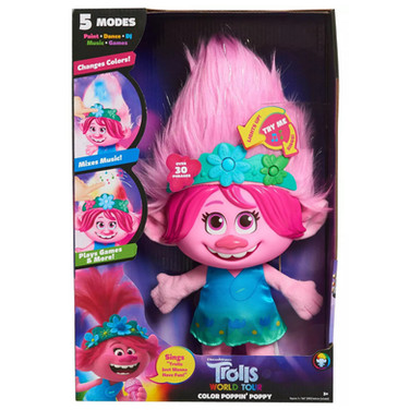 Trolls World Tour Color Poppin' Poppy