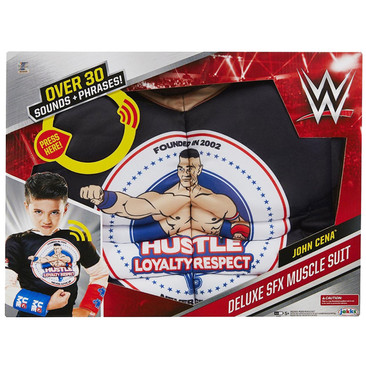WWE Deluxe SFX Muscle Suit