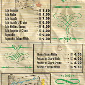 CAFE E REFRIGERANTES