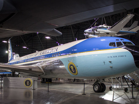 Step aboard Air Force One at the National Museum of the US Air Force