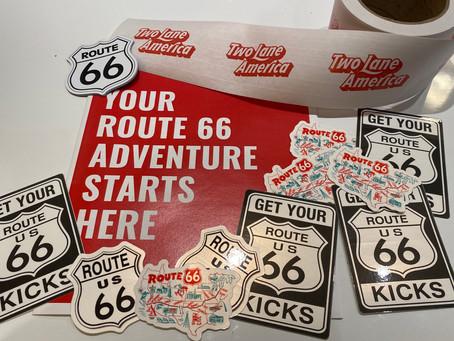 Ever wonder where we get our fun stickers? Wonder no longer.