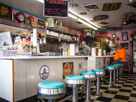 The Rock Cola Cafe is packed full of nostalgic goodness