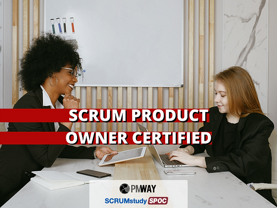 Scrum Product Owner Certified (SPOC®)