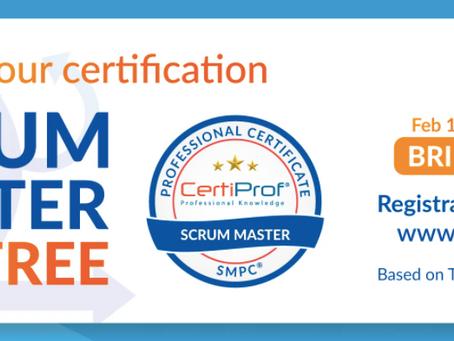 CertiProf - Atualização da certificação Scrum Master gratuita até 30 de abril