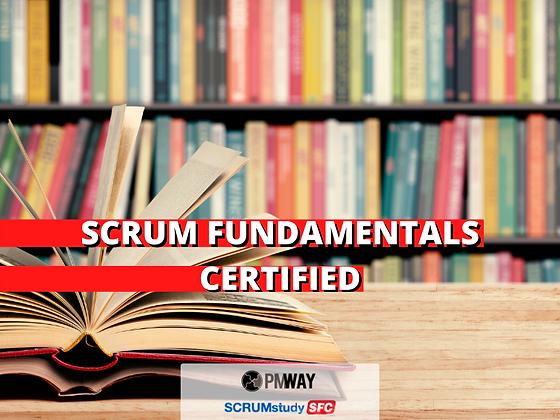 Scrum Fundamentals Certified (SFC®)