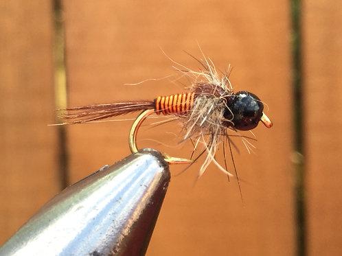 Beaded Copper Wallop