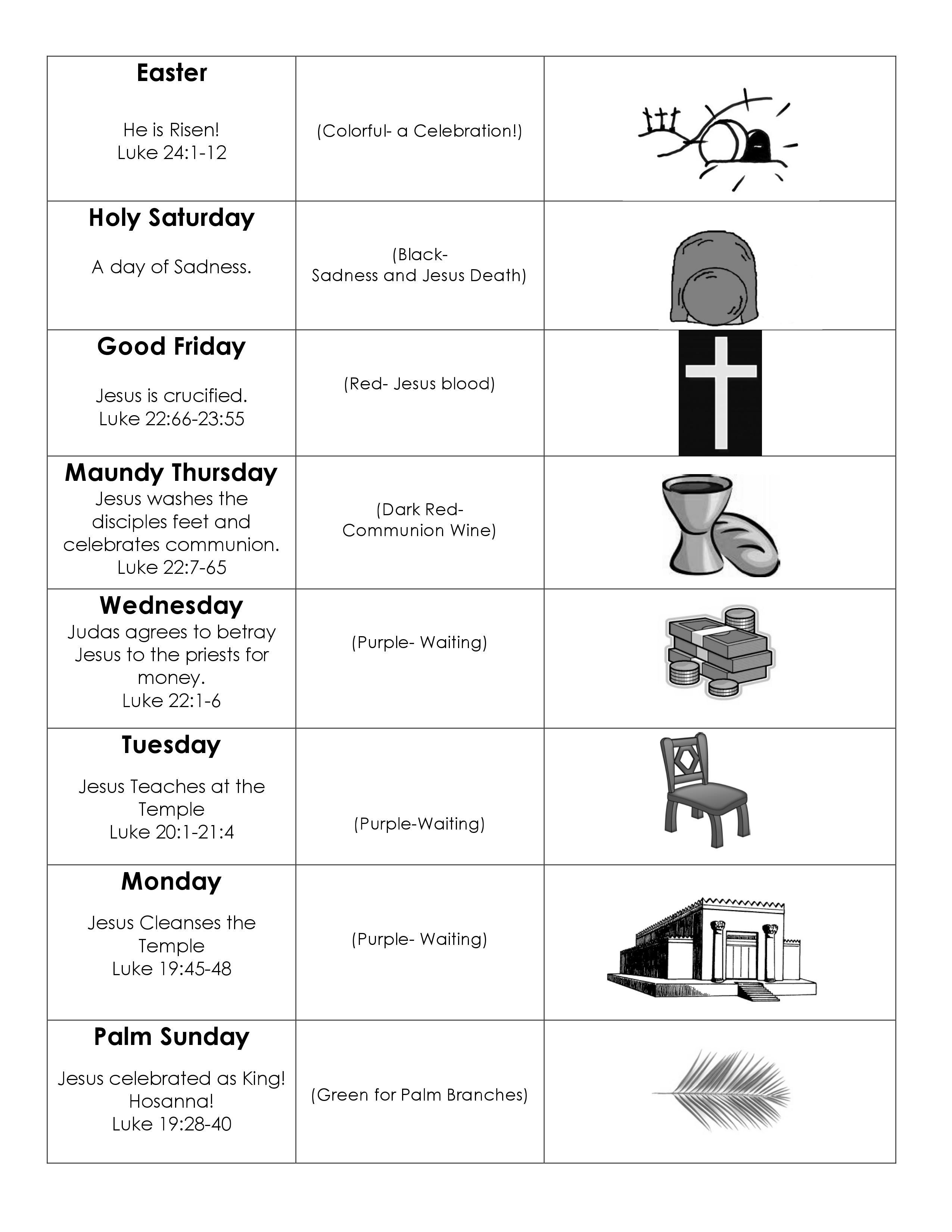 Holy Week BW