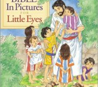 Bookshelf: Bibles & Bible Storybooks, from age 0-10