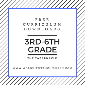 Tabernacle Curriculum Download