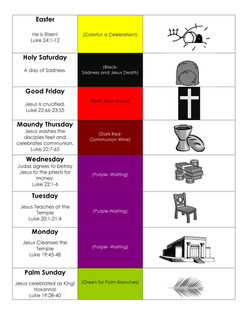 Holy Week CR
