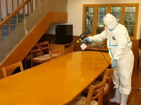 クラスターを防ぐ為には光触媒抗菌コーティング