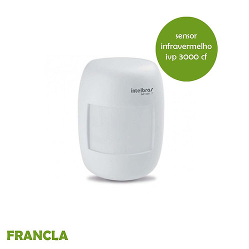 Sensor Infravermelho Ivp 3000 Cf Com Fio Intelbras