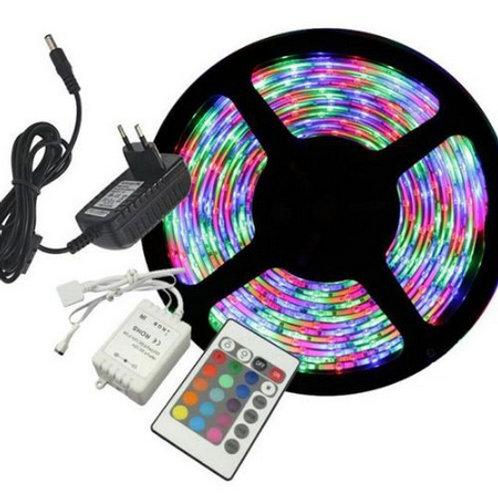Fita led RGB (colorida) com controle remoto