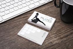 piltaes card Free Designer Business Card Mockup