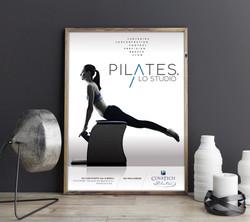 pilates Free Classy Poster Mockup