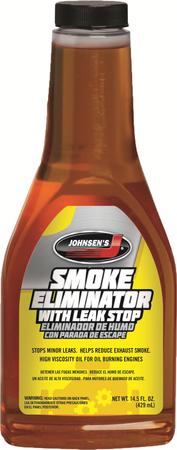 Smoke Elimiator With Leak Stop