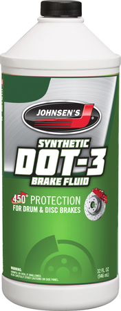 Brake Fluid Dot 3 32 Oz