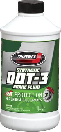Premium Dot 3 Brake Fluid 12 Oz