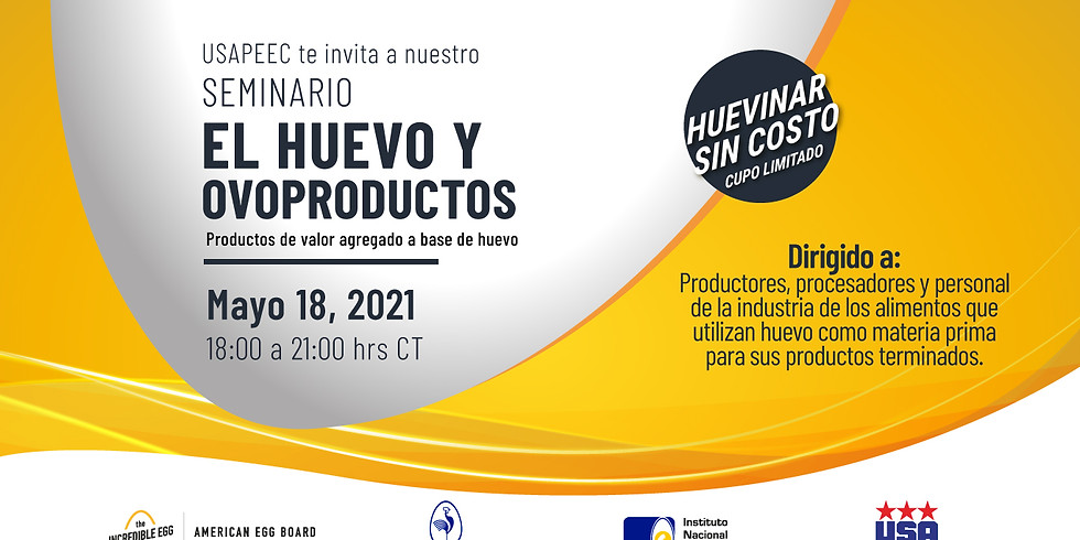 Huevinar: El Huevo y Ovoproductos 18 Mayo