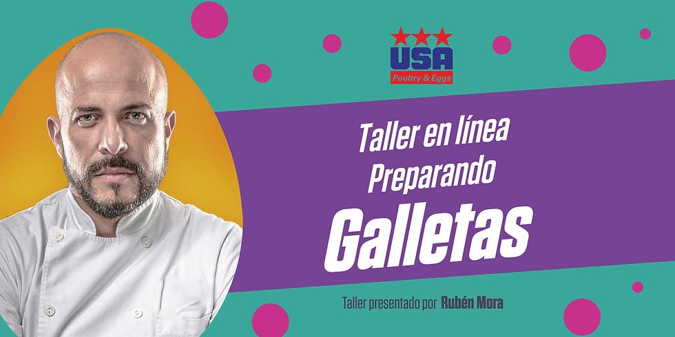 Taller: Preparando Galletas ¡Edición especial para niños!