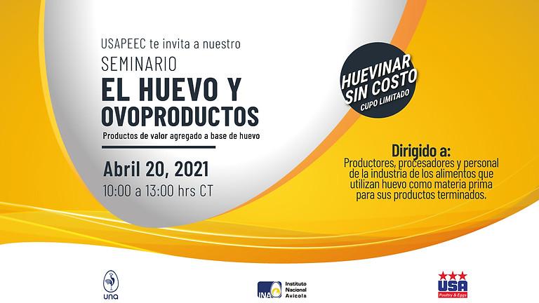 Huevinar: El Huevo y Ovoproductos 20 Abril