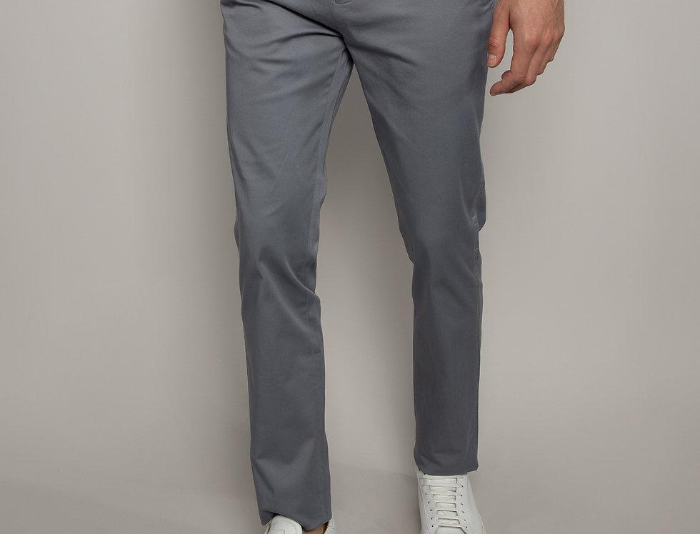 Pantalone Chino daily performance grigio - regular fit