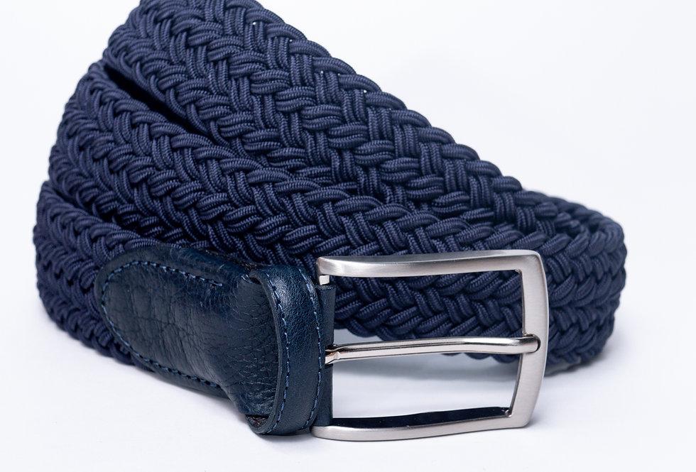 Cintura intrecciata jeans made in Italy