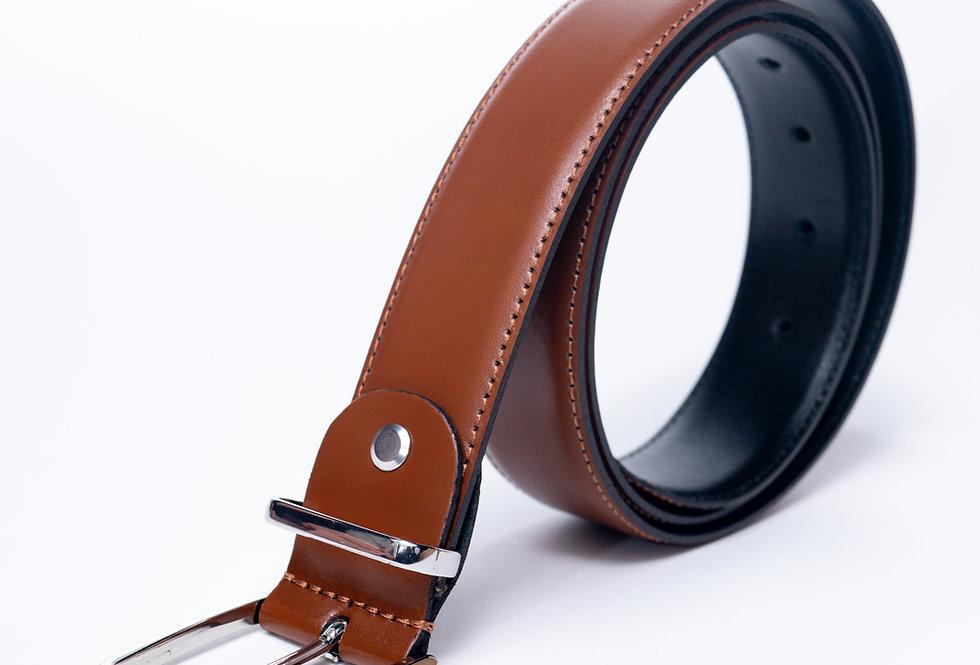 Cintura in vitello cuoio made in Italy