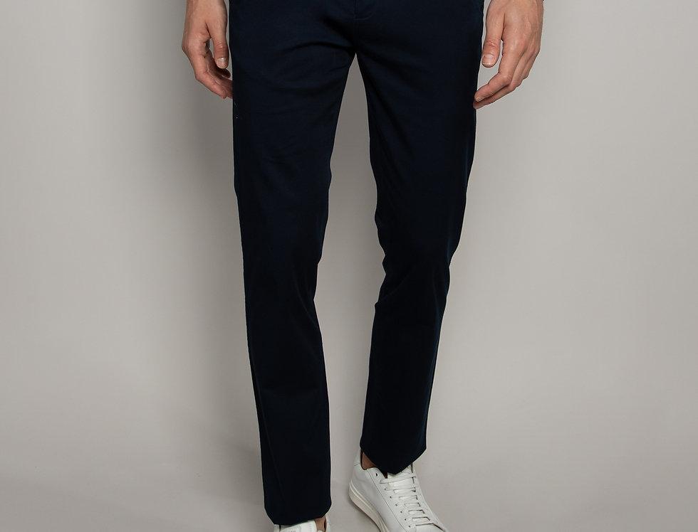 Pantalone Chino daily performance blu - regular fit