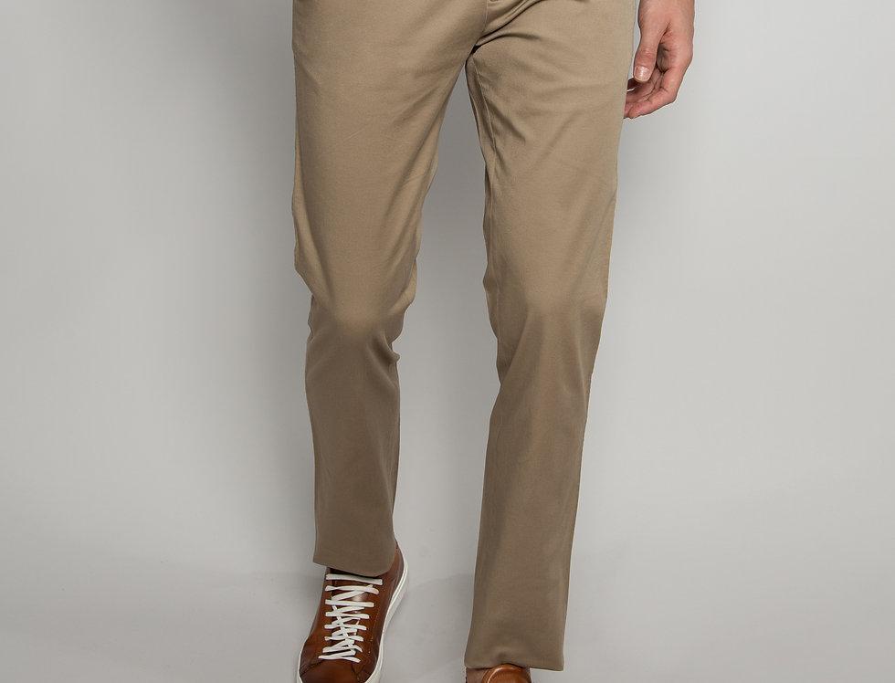 Pantalone Chino daily performance beige - regular fit