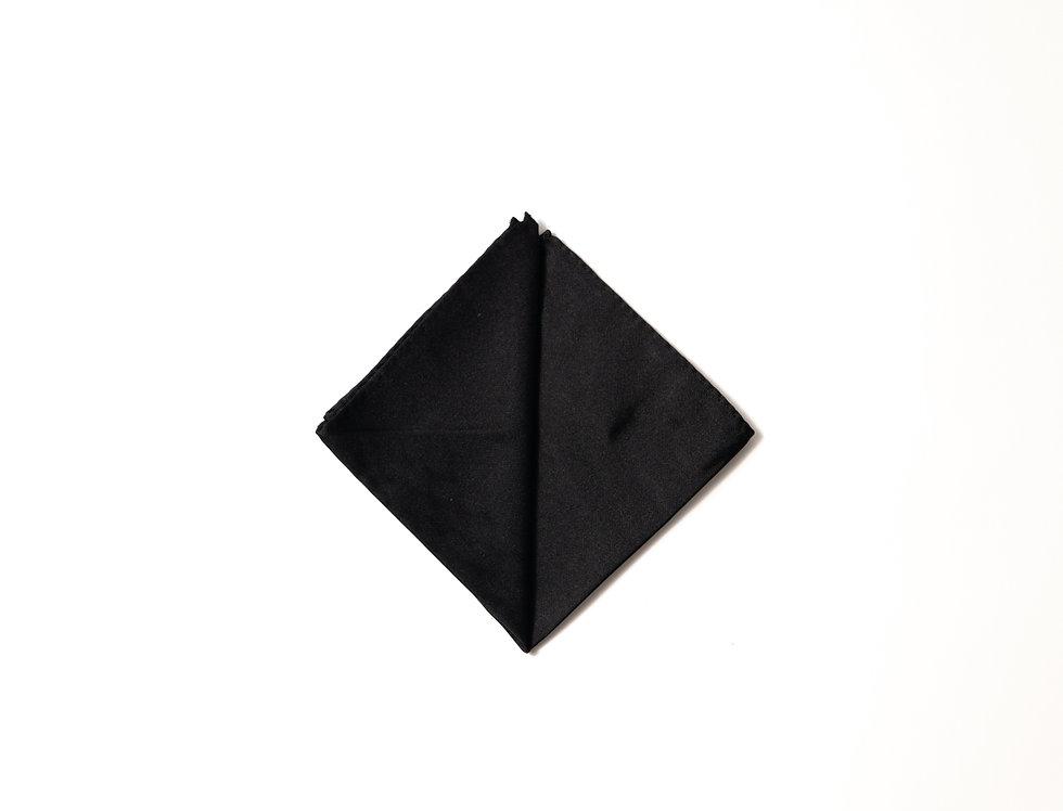 Pochette raso nero