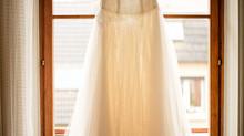 Préparation de la mariée!