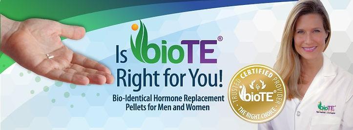 BIOTE - Bio-Identical Hormone Replacment Pellets for Men & Women