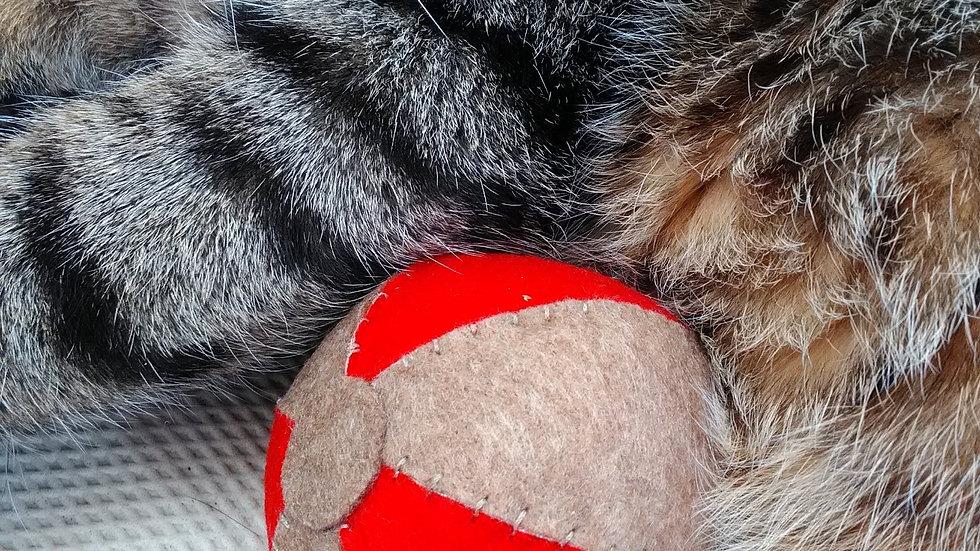 Bolas com Catnip Orgânico