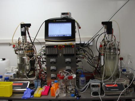 The first fermentation run in our demo-biorefinery